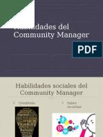 Habilidades Del Community Manager 2015
