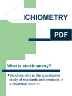 stoichiometry review