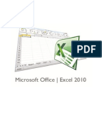 Manual Microsoft Excel 2010
