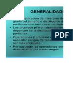 Análisis Granulométrico - Funciones de Distribución