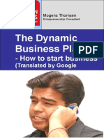 Business Plan Arabic