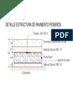 Detalle Pavimento Pioneros Model 3