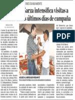 13-05-15 Adrián de la Garza intensifica visitas a colonias en los últimos días de campaña