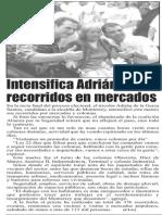 13-05-15 Intensifica Adrián recorridos en mercados
