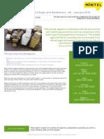 Consumer Attitudes Toward Sugar and Sweeteners - UK - January 2015_Brochure