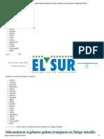 11-05-15 Debe Esclarecer El Gobierno Quiénes Irrumpieron en Chilapa_ Astudillo _ El Sur de Acapulco I Periódico de Guerrero