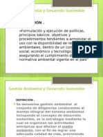 Laminas DEFINICION Gestión Ambiental