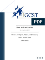 211 New Voices 18 - Women, Religion, Peace, And Security in the Middle East[1]