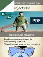 project plan science fair checklist