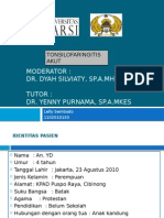 ppt tonsilofaringitis akut