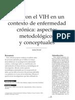 Pierret, J. – Vivir Con El VIH en Un Contexto de Enfermedad Crónica