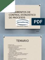 Fundamentos de Control Estadistico de Procesos