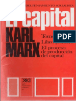 El Capital (Tomo I, Volumen II), Karl Marx