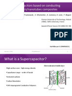 Supercapacitors Based on ECP-CNTs Composites