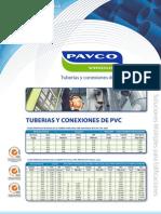 PAVCO- VINDUIT - Especificaciones Tecnicas