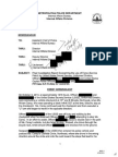 Metropolitan Police Department Shooting Report Regarding Use of Force Against Miriam Carey