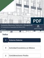 Economia Mexicana Banxico Mayo 2015