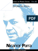 Cuaderno de Poesía Crítica Nicanor Parra