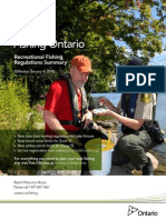 2015 Ontario Fishing Regulations Summary