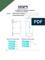 Ejemplo de Diseño de Conexion Tipo End Plate