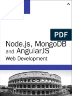 Addison-Wesley Node.js, MongoDB and AngularJS Web Development (2014)