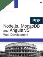 Addison-Wesley Node.js, MongoDB and AngularJS Web Development (2014)