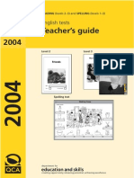 english 2004 key stage 1 teacher guide