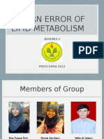 Ppt Biokimia II Kel 10 - Inborn Error of Lipid Metabolism