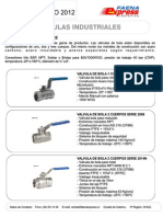 Catalogo 2012 Valvulas-Industriales Faenaexpress