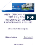 4.- Estandares y Regulaciones