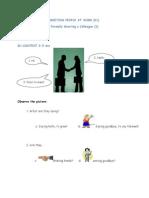 01 Business English - Meeting People at Work - 01 Formal Greeting_ PDF