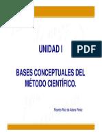 unidad1basesconceptualesdelmtodocientfico-111112070820-phpapp02