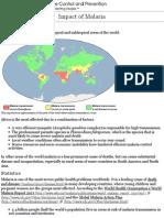 cdc - malaria - malaria worldwide - impact of malaria