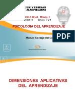 4 Dimensiones Aplicativas Del Aprendizaje Part.1