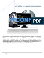 Como Utilizar El Comando Ipconfig