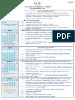 Calendario Academico 2014-15 UFRB