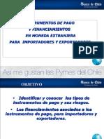 """Banco de Chile Operaciones Bancarias en Comercio Internacional"""""""