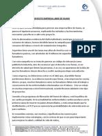 Proyecto Dada Libre de Humo