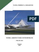 Teoria Arhitecturii II