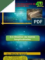 Unidad 3.- Muros Longitudinales y Desvios Permanentes