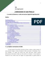 La Conversione Di Paolo - Analisi Esegetica