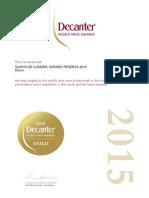 Certificate DECANTER_QLGR2012_2015_ GOLD MEDAL_2015.pdf