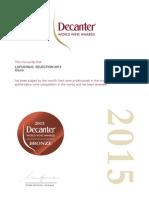 Certificate DECANTER_LUPUCINUS SELECTION 2015_ BRONZE MEDAL_2015.pdf