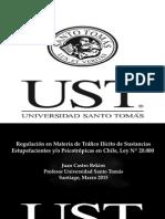 Ley Nº 20.00 sobre Sobre tráfico ilícito de sustancias estupefacientes y/o psicotrópicas