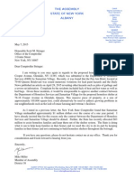 Mike Miller letter to Comptroller re