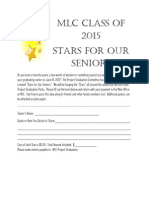MLC - Stars for Our Seniors Flyer