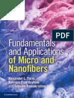 Fundamentos y Aplicaciones de Micro y Nanofibras