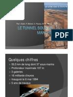 Creusage - Tunnel Sous La Manche