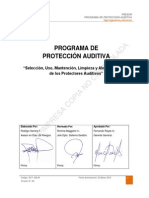 Programa de Proteccion Auditiva