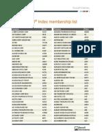Russell Membership 2014